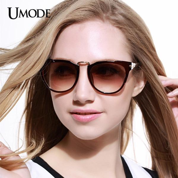 d17ba7abc7a18 Umode New Erika Gradient Sunglasses for Ladies Women Mirror Sunglasses  Tortoise Color Frame Masculino Oculos De Sol Gafas SW0127 on Aliexpress.com