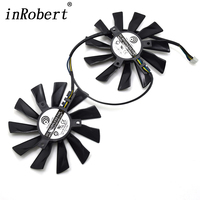 2 Pcs PLD10010S12HH 12V 0 4A 4Wire Twin Cooling Fan 94mm 40mm Can Repair For