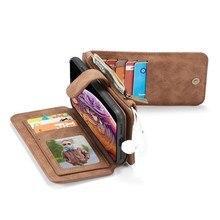 Telefonu Flip case Iphone 12 Mini 11 Pro X Xr Xs Max 5 s e 2020 6 s 7 8 artı Coque lüks deri koruyucu aksesuarları kapakları