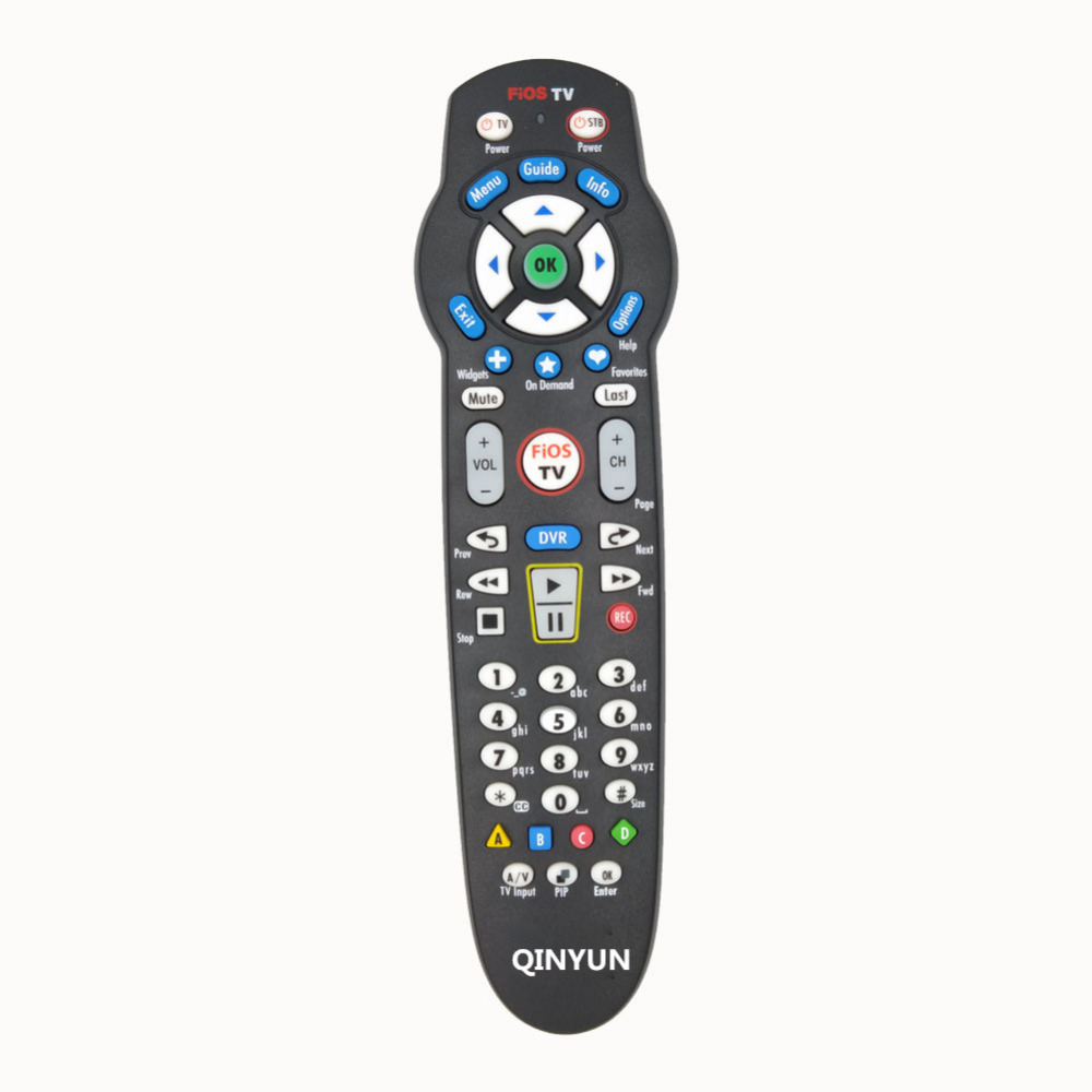 rc2655007 01b remote control use for verizon fios tv dvr set top box in remote controls from. Black Bedroom Furniture Sets. Home Design Ideas