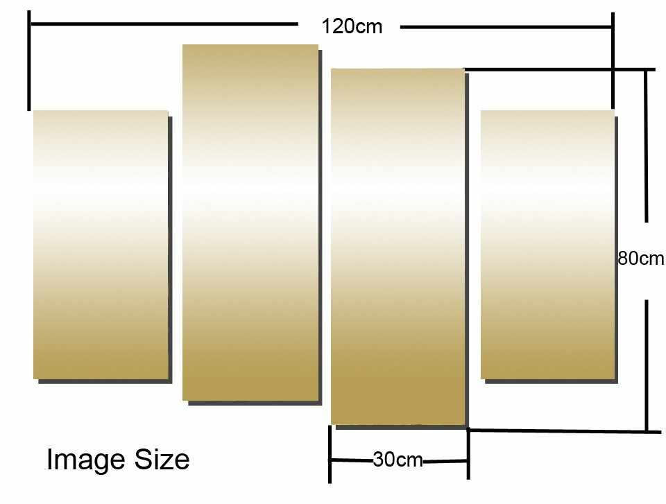 HOT Framed 4Pieces/set Nail art posters Wall Art For Wall Decor Home Decoration Picture Paint on Canvas Prints Painting