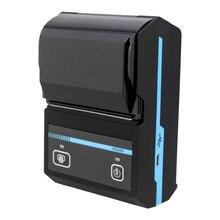 Портативный 58 мм Bluetooth Термопринтер Mobie Мини POS Чековый Принтер билетов Поддержка Android и IOS NT-1880