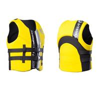 Life Vest Boating Jacket Neoprene Outer Foam filled Front ziper 6 colors men women adult youth Swimming Vest S M L XL 2XL 3XL