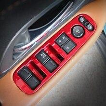 Unon 4 шт. пластиковая накладка для межкомнатных дверей, окон, подъемных кнопок, для Honda HR-V HRV