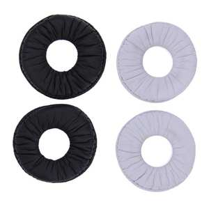 Ear-Pad Replacement Soft-Foam-Cushion Sony for Mdr-V150/v2 White Black 1-Pair