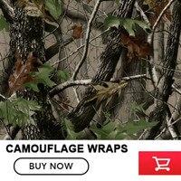 FS012 Camouflage Car Wrap Realtree Camo Vinyl Break up Jumbo Leaf Graphic PVC Car Styling Sticker Film Roof Hood Golf Cart Truck