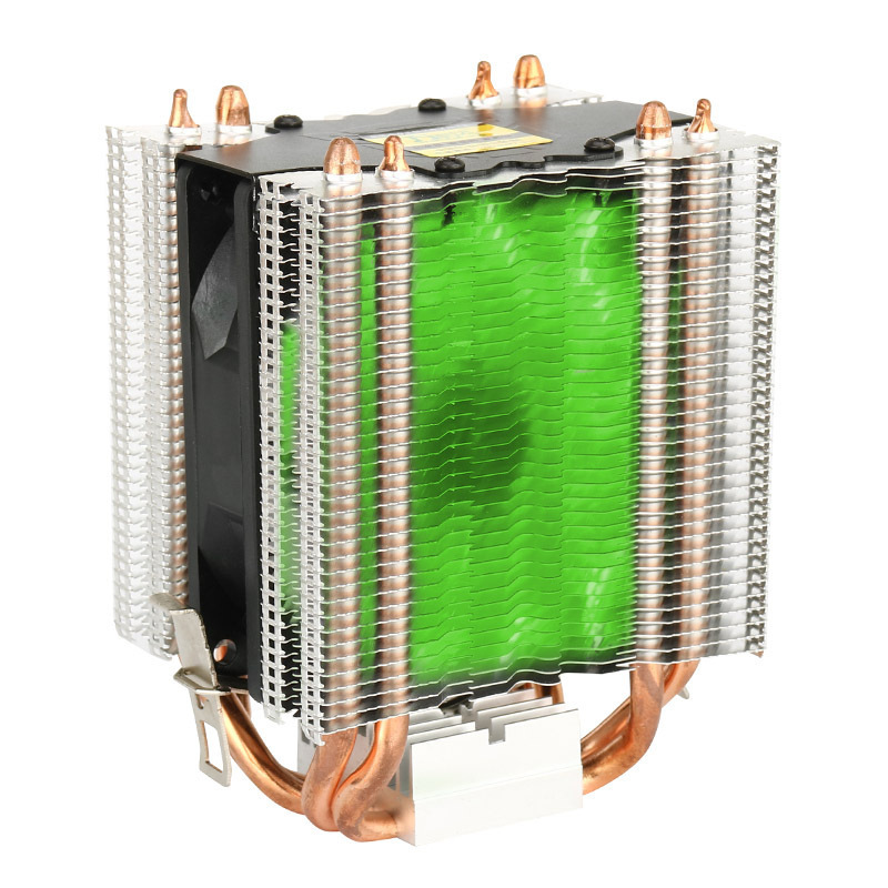CPU Cooler copper  Processor Cooler for Inte l775 1366 2011 1155  11564 3pin 4pin Heatsink  Fan Cooling for Desktops Computer wavelets processor