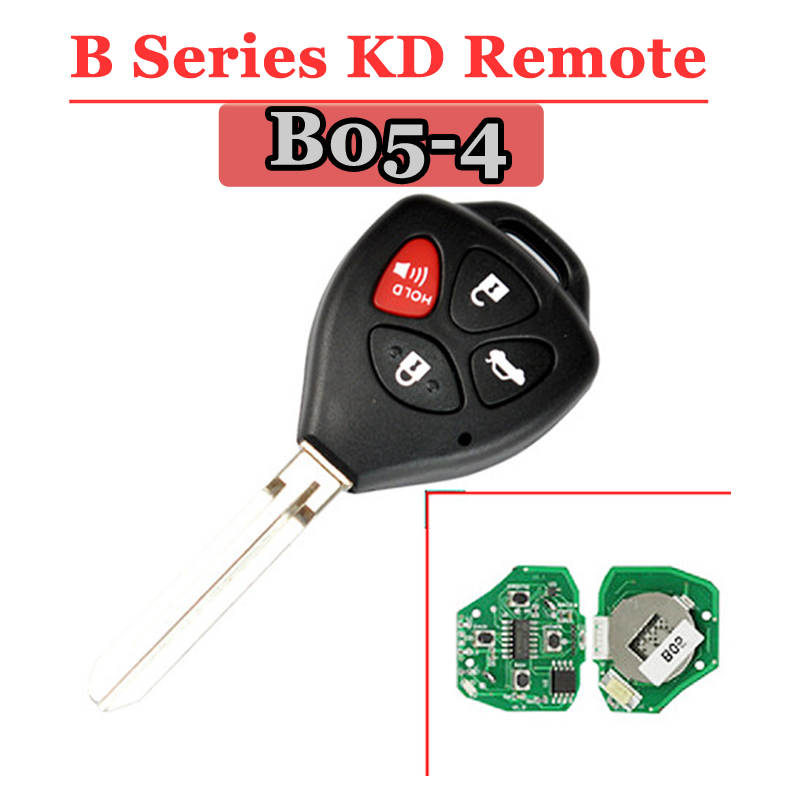 (1PCS)B05-3+1 KD900 URG200 Remote Control 4 Button 3+1 Button Key TY Style Universal Remote Key For KD900 KD200 MINI KD