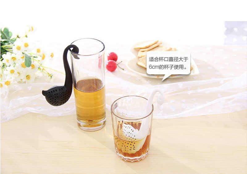 茶注入器白鳥茶ハーブスパイスフィルターディフューザーキッチンガジェットコーヒーフィルター箸置きアクセサリー人生のパートナー