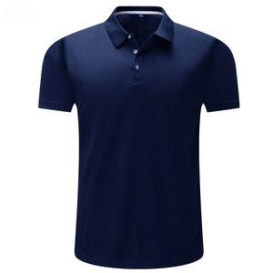 Image 3 - New Mens Polo Shirts Men Desiger Polos Solid Color Men Cotton Short Sleeve shirt Clothes jerseys Golf Tennis Polos Big Size 4XL