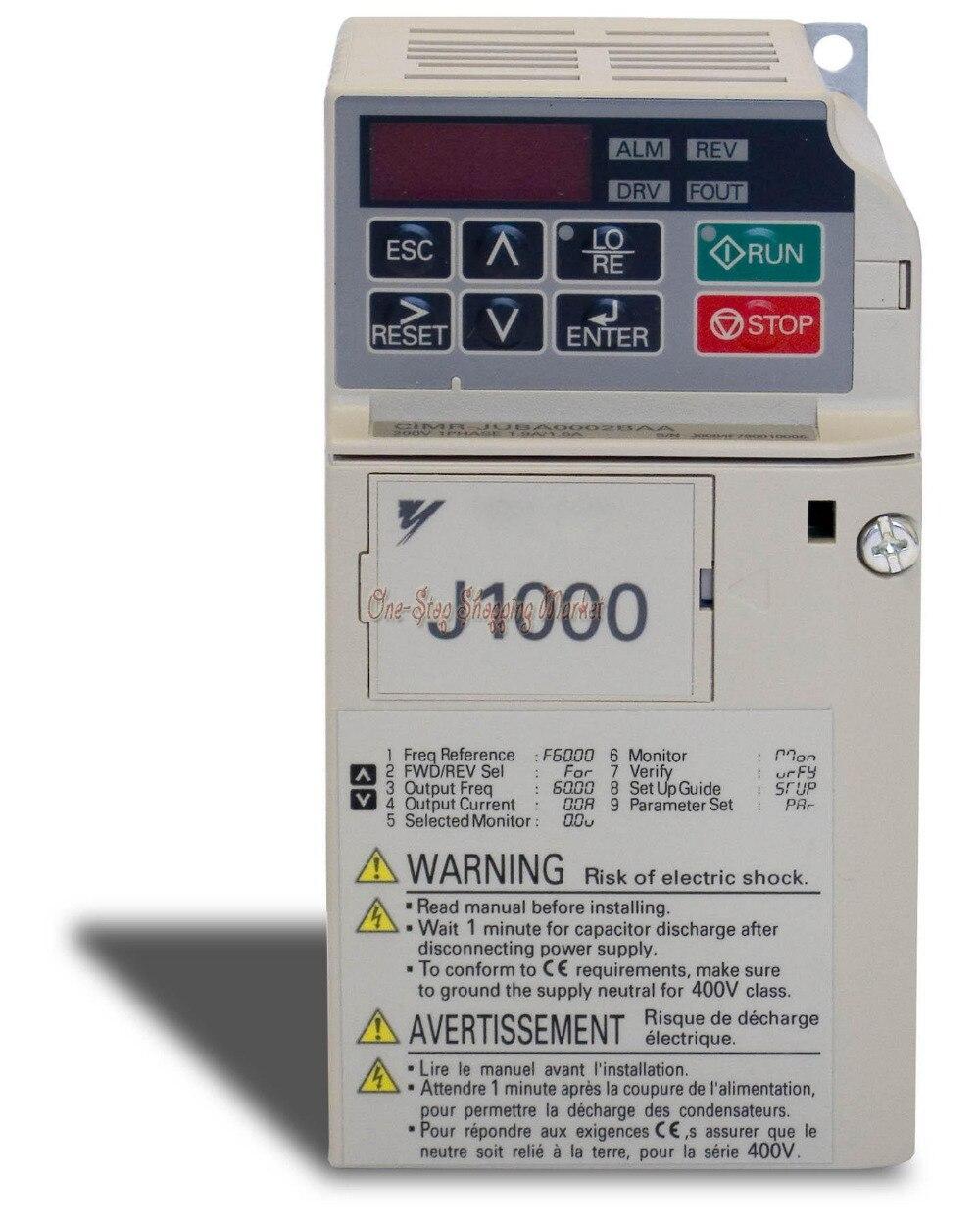 New original inverter J1000 CIMR-JBBA0010BAA 1.5KW single-phase 220V