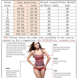 Image 2 - Women Sweat Waist Trainer for Weight Loss 9 Spiral Steel Boned Slimming Belt Fat Burning Body Shaper Waist Cincher Shapewear