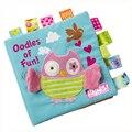 Baby toys Животных вышитые головоломки ткань книги детские точки зрения тряпки книги для маленького ребенка подарок