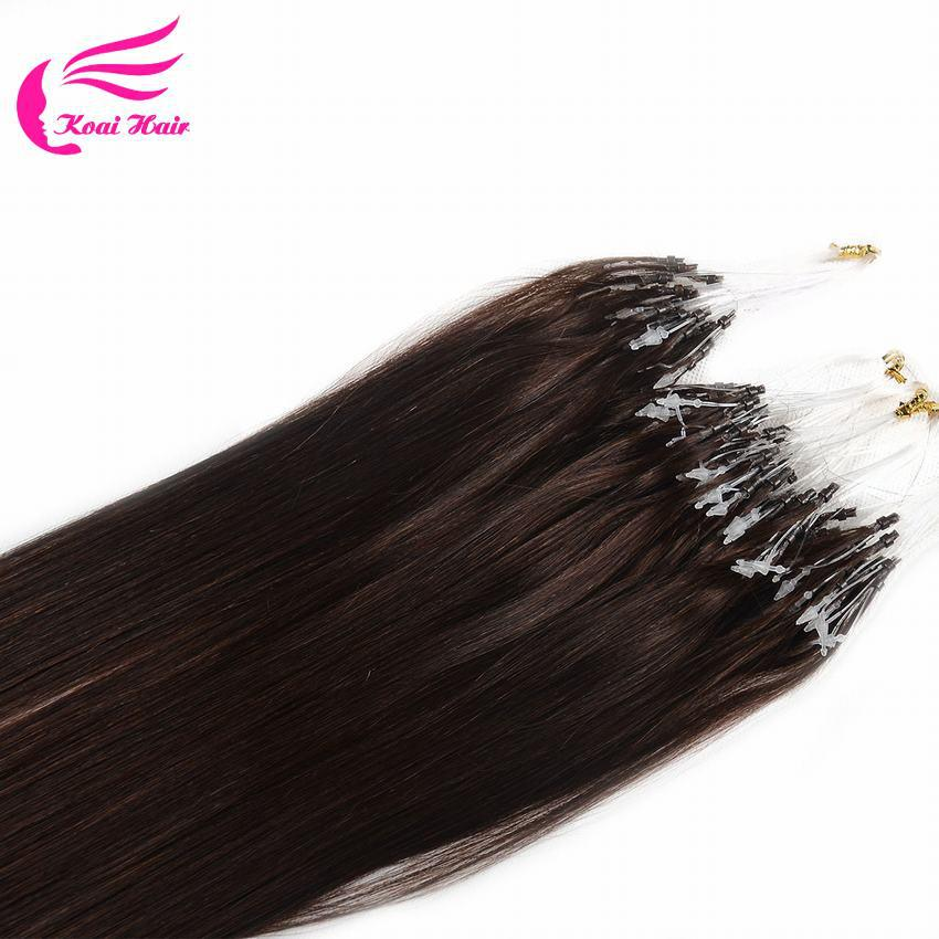 6A Micro Loop Hair Extensions Human Hair Micro Ring Extensions 50g per pack 18inch Micro Link Extensions 13 colors in stock-in Micro Loop Ring ...