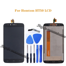 5.5 original display for Homtom HT50 LCD + touch screen digital converter screen assembly repair parts Free shipping+tools