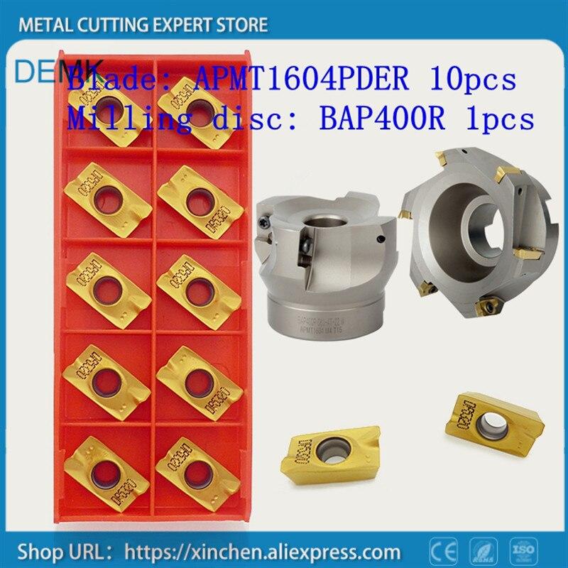 Knife BAP400R 50 22 4T milling cutter for APKT1604 APMT1604PDER,face milling cutter,Mechanical lathe for milling machine