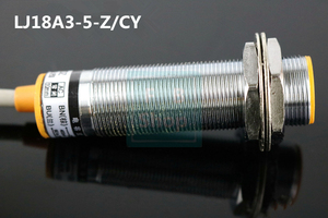 Image 4 - Индуктивный переключатель расстояния M18, 5 шт., 3 провода, постоянный ток, PNP, NO + NC, 5 мм, датчик LJ18A3 5 Z/CY