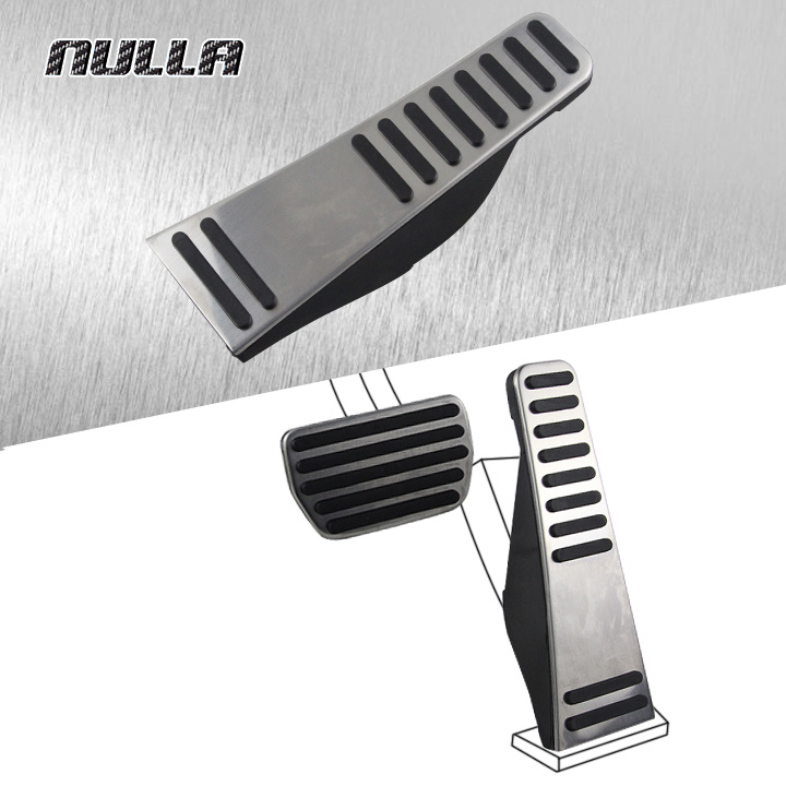 NULLA LHD Stainless Steel For Volvo XC90 XC 90 Accelerator Brake Fuel Gas Pedal Extension Interior Car Pedals Pad Pedal