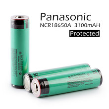 2PCS/LOT New Protected Original Panasonic 18650 NCR18650A 3.7V Rechargeable Li-ion Battery 3100mAh Batteries with PCB стоимость