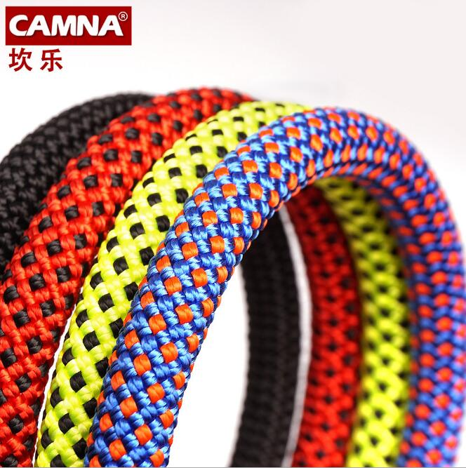 100M/piece 10.5mm 2700kg dynamic safety rope,rock climbing rope downhill,auxiliary accessory rope FREE SHIPPING multifunctional outdoor sports retractable plastic climbing safety rope black