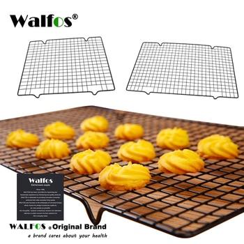 WALFOS stal nierdzewna nieprzywierająca kratka do chłodzenia ruszt typu taca do chłodzenia wypieków na herbatniki/ciasteczka/ciasto/chleb/pieczenie ciasta Rack gorąca sprzedaż