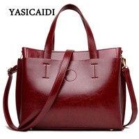 Famous Designer Purses And Handbags 2016 Leather PU Black Large Shoulder Bag Female Vintage Satchel Bag