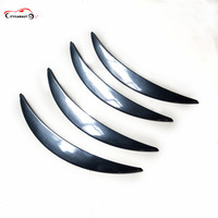 Wheel Eyebrow Decorative ABS carbon fibre Strips for Universal Car Tires Eyebrow Car Styling Suitable for ALL Car Modify STICKER
