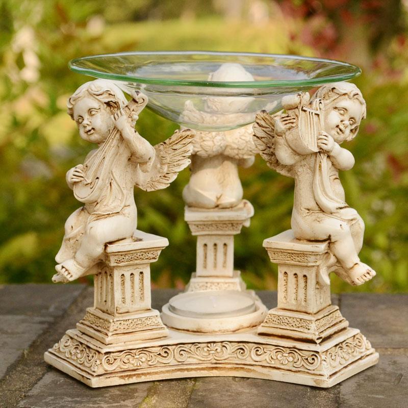 Europa Ángel TeaLight Candle Holder Aroma Furnace Burner Wedding - Decoración del hogar - foto 3