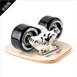 TWOLIONS arce canadiense Patines Freeline de madera de deriva Tabla de Skate Patines Fregar la cubierta libre Patines Moire Wakeboard