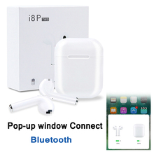 I8p Tws Wireless Bluetooth Headphone Pop-up Window Connect Portable Mini Headsets With Charge Box For Smart Phone Xiaomi Samsung