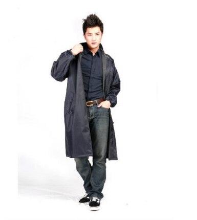 Dark Blue Raincoat