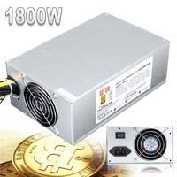 1800W Multiline Mining Power Supply Ethereum Graphics Card ATX Miner Power Supply For Bitcoin Miner Antminer
