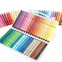12/18/24 pçs aquarela marcador caneta conjunto de grande capacidade canetas tinta desenho pintura grafite lavável marcadores suprimentos de arte 04118