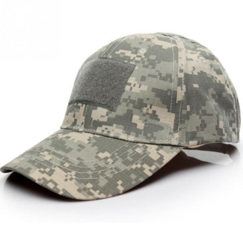 Camouflage Tactical Baseball Cap Snapback Patch Military Tactical Unisex ACU CP Desert Camo Hats For Men 6 Patterns
