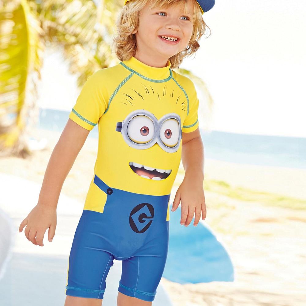 d2d5664007b3f Produs - UPF 50 UV Protection Baby Beachwear Superhero Spiderman Costume  Boys One Piece Swimsuit Kids Captain America Children s Swimwear
