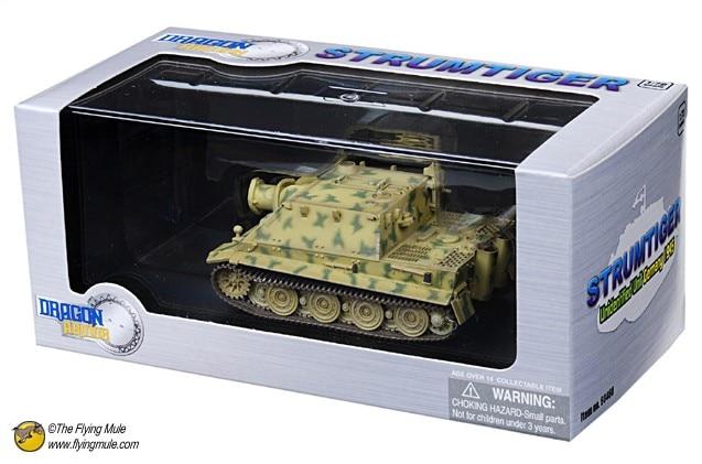 Dragon 1:72 World War II German 38CM Artillery R61 Tiger assault tank model 60460 Favorite Model стоимость