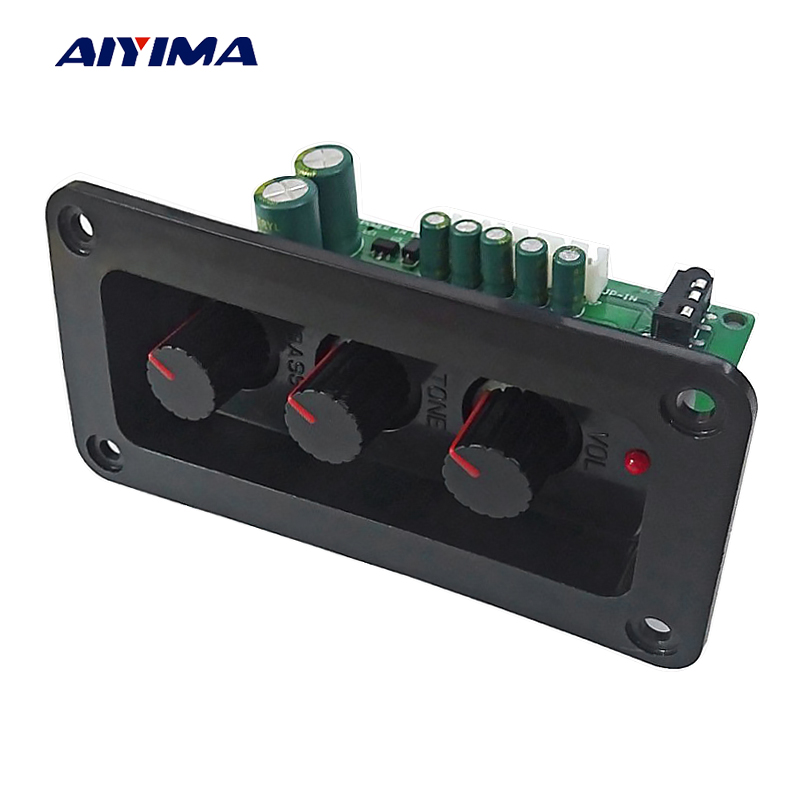 AIYIMA NE5532 Tone Board HIFI Audio Treble Bass Volume Control Adjustment Tone Low Noise With Regulated Reversed Amplifier DIY