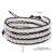 Daimi pérolas naturais longo pulseira de couro fantástico jóias praia estilo casual best match biquíni comprimento ajustável
