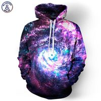 Space Galaxy Hoodies Men Women Sweatshirt Hooded 3d Brand Clothing Cap Hoody Print Paisley Nebula Baseball