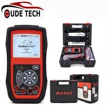 Original Autel AutoLink AL539B OBDII auto Code Reader Electrical Test Tool AL 539B 539 b Automotive Scanner automotriz