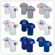 fcbc39a2b Men's Chicago Cubs Anthony Rizzo Jersey Home White Gray Alternate Royal  2017 Players Weekend Gold Program