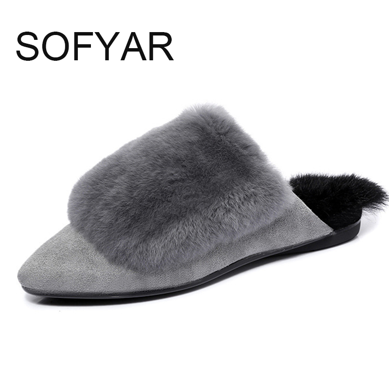 spring autumn winter shoes outside slipper new warm slippers fur lovers furry ladies flat with dlides women plush shoes fashion fur slippers emoji slippers cute slipper shoes house furry slipper indoor chausson women female platform shoe ladies winter shoe