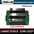 Линейный блок HIWIN EGW15 CC, линейная каретка/направляющая/рельс/ползунок, линейный подшипник, квадратные блоки большой нагрузки
