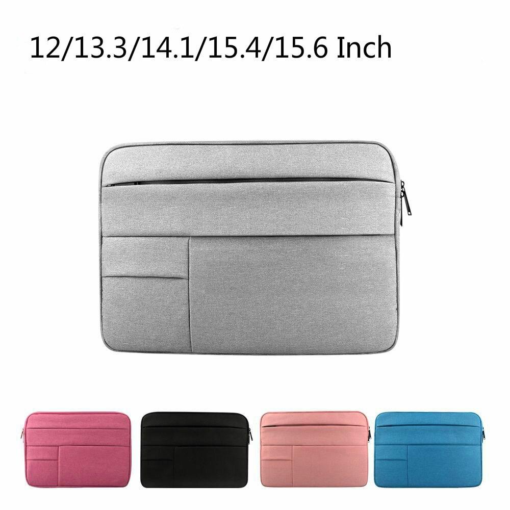 Waterproof Laptop Bag 12/13.3/14.1/15.4/15.6 Inch Notebook Sleeve Protective Case For Macbook Pro 13 Huawei Matebook X Pro