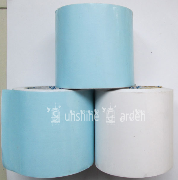 AAA Greenhouse Film Repair Tape Patch 7cmx 10 Meters - Poly Tape UV Resistant Blue Color