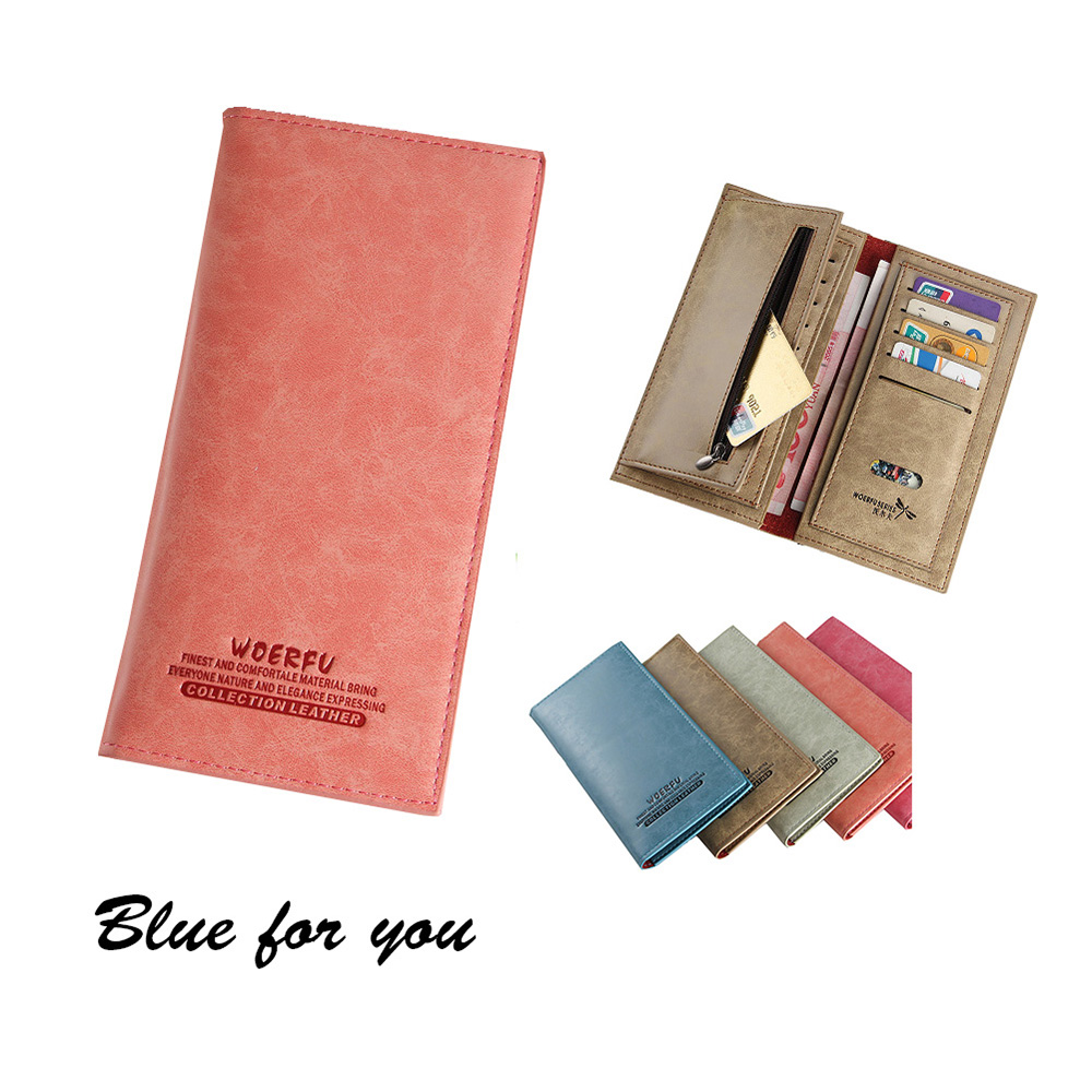 Brand New Women Wallet Long PU Leather Money Purse ID Credit Card Holder Lady Coin Purses Clutch Wallets Women Money Bags youyou mouse high quality women long wallets fashion pu leather money wallet 6 colors lady clutch coin purse card