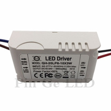 5 Pieces Isolation 20W AC85-277V LED Driver 6-10x3W 600mA DC18-34V LEDPower Supply Constant Current Ceiling Lamp Free Shipping цена
