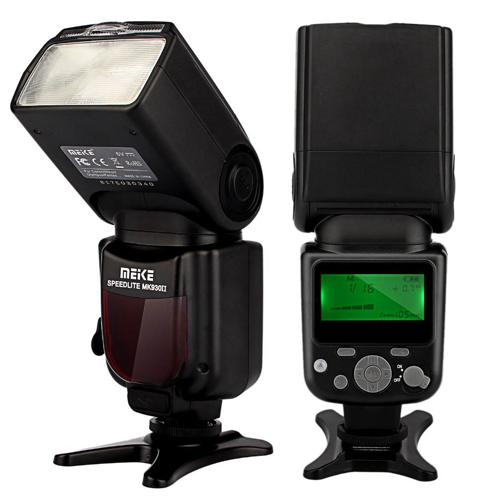 Бренд MeiKe вспышка mk-930 II для Canon 400D 450D 500D 550D 600D 650D 1100D как YONGNUO YN-560 II YN560II