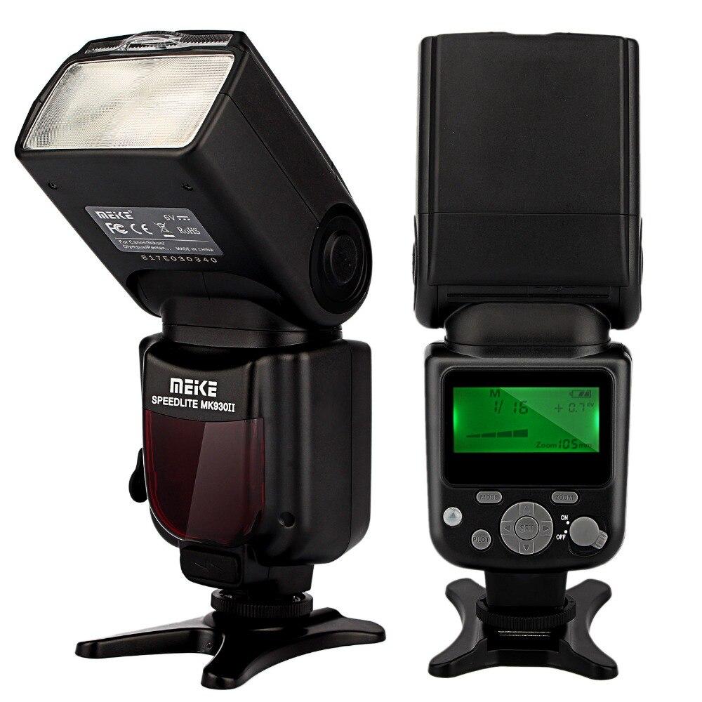 Meike Marque MK-930 II MK930 II Flash Light Speedlite pour Canon 400D 450D 500D 550D 600D 650D 1100D comme yongnuo YN-560 II YN560II
