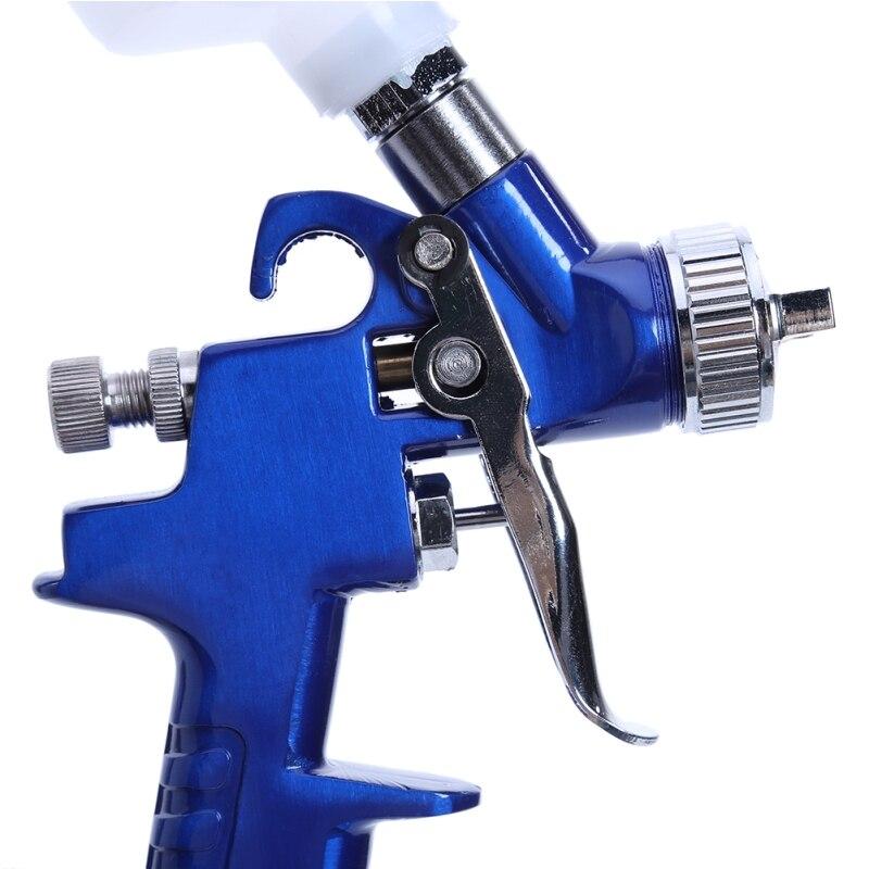 Image 3 - Spray Gun Air Mini Paint Gun 0.8MM/1.0MM Nozzle 0.25mpa Working Pressure 100ml Professional HVLP Air Brush Paint Spray Gun Tool-in Spray Guns from Tools on